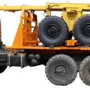 Автомобили грузовые трубовозы на шаси КАМАЗ