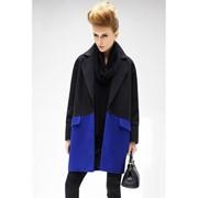 Пальто кашемировое двух цветов мп434 фото