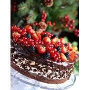 Торт фруктовый №13 код товара: 41487 фото