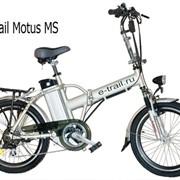Складывающийся электровелосипед Motus MS фото