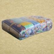 Техническая бесшовная салфетка отбеленная 40х40см фото