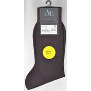 Носки мужские Andrea Rinaldi арт. K7000, 100% натуральный шелк, коричневый фото