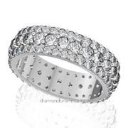 Кольца с бриллиантами A38461-1 фото