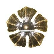 Изделие из металла цветок КУ-1016 d 85, артикул 10750 фото