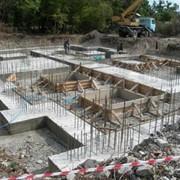 Строительство и ремонт фундаментов. фото