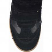 Кроссовки женские Bekket Wedge Sneakers In Black фото