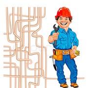 Монтаж греющего кабеля на трубопроводах фото