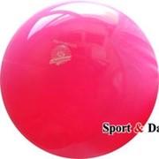 Мяч розовый флюо,18см, вес 400 гр. фото