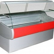 Холодильная витрина полюс вхс-1,5 эко mini фото
