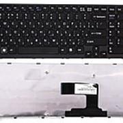Клавиатура Sony VPC-EL Black (с черной рамкой) фото