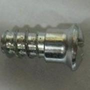 Винт для стяжки-полкодержателя, сталь, цинковое покрытие D5 x 9,5мм фото
