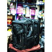 Дорожная сумка на колесах Happypeople 43х30х43см черная фото