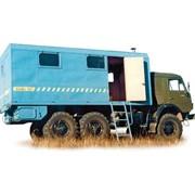 Установка подъемная для производства скважинных работ Л2СГ (шасси КАМАЗ-43114 6х6) фото