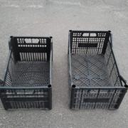 Пластиковые ящики фотография
