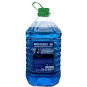 Жидкость для стекол автомобиля, незамерзайка, стеклоомыватель, 5л,-30 фото