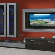 Стенка-горка для гостиной фабрики АСТ 17 фото