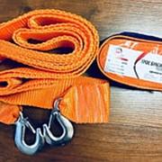 Буксировочный трос 3,5 т 2 крюка, 4 метра, в сумке ТД Движение фото