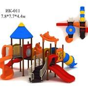 Детские игровые комплексы, качели, карусели, горки. фото