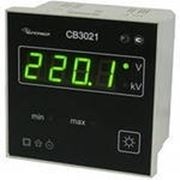 СВ3021 - цифровой щитовой вольтметр (CB 3021)