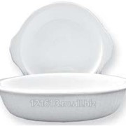 Тарелка-баранчик для запекания D=17.5cм WHITE DREAM фото