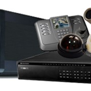 Системы видеонаблюдения и контроля доступа фото