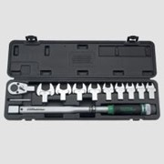 """Ключ динамометрический со сменными рожковыми насадками 11 пр. 1/2"""" Артикул: GAAI1101"""