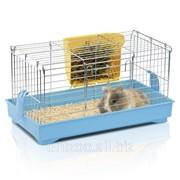 Клетка для морских морских свинок и кроликов Imac Cavia 1, голубой фото