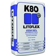 LITOFLEX K80 eco - Эластичная высокоадгезивная сухая клеевая смесь фото