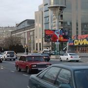 Наружная реклама в Актау Центральная дорога, 2 мкр., магазин Олимп фото