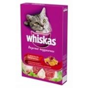 Корм сухой для кошек Вискас Аппетитное ассорти с говядиной, ягненком и кроликом фото