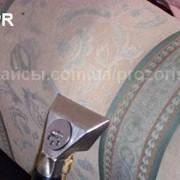 Чистка мягкой мебели - текстиль и кожа фото