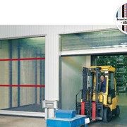 V 6020 TRL Ворота для наружного и внутреннего применения с прозрачной завесой фото