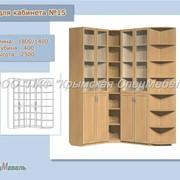 Мебель офисная: Стенка для кабинета №15 фото