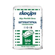 Шпаклевка гипсовая Изогипс Эко (30 кг) фото