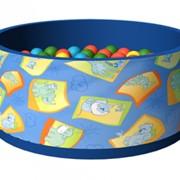 Сухой бассейн с шариками Дюна фото