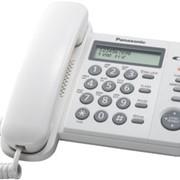Телефон со шнуром Panasonic KX-TS2356RUW фото