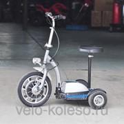 Трехколесный электросамокат Zappy 500w для взрослых фото
