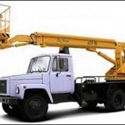 Автогидроподъемник автовышка ГАЗ-3309 фото