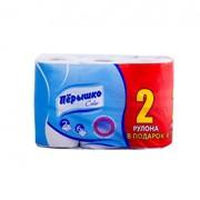Туалетная бумага Перышко 6 рулонов 0104 фото