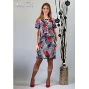 Платье 1772 Красный цвет фото