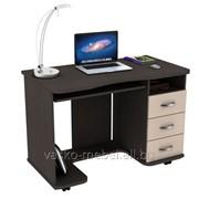 Компьютерный стол KC 20-40 Венге/дуб молочный фото