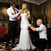 Свадебная фотография в студии фото