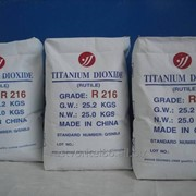 Диоксид титана R203/206/(белила) , пигмент белый фото