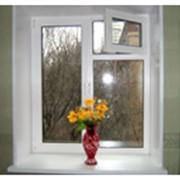 Изготовление и установка металопластиковых изделий. Окна, двери, ветражи. Ремонт окон, дверей. Замена стеклопакетов фото