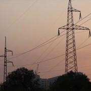 Строительство линий электропередач (ЛЭП) фото
