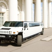 Аренда лимузина Hummer H2 White Luxury фото