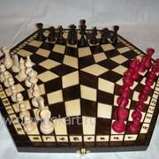 Шахматы для трех игроков На троих фото