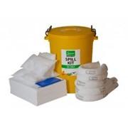 Набор для ликвидации разливов нефти superior в стационарном контейнере , 80 литров. артикул: 24-1080 1028 фото