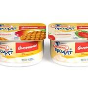 Продукт йогуртный Йогуртоша с массовой долей жира 9%, с фруктовым наполнителем, термизированный фото