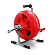Прочистная машина 3S для прочистки труб диаметром от 40 до 100мм, спираль D=13мм х 15 м,муфта D=16мм, Rothenberge фото